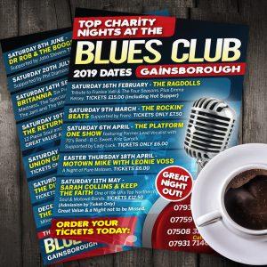 Blues Club Leaflet