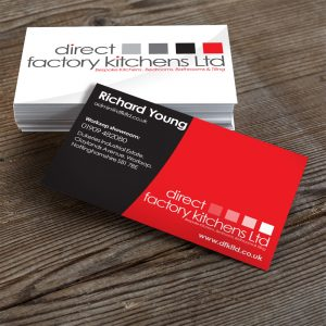 Direct Factory Kitchens Business Cards
