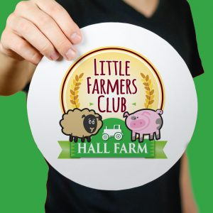 Hall Farm Logo